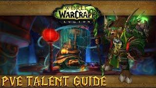 Legion 7.1.5 Windwalker Monk PVE Guide: Talents