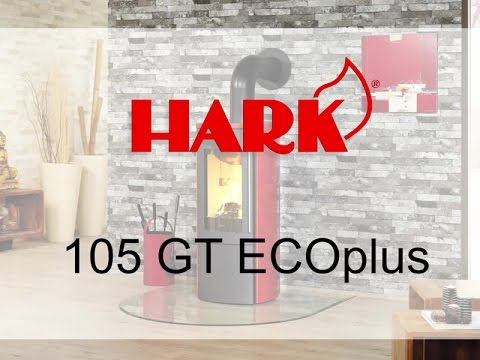 kaminofen hark 105 gt ecoplus kaminofen youtube. Black Bedroom Furniture Sets. Home Design Ideas