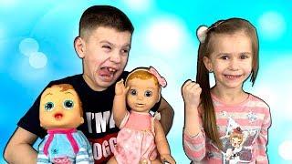 Lika is BORED Marik helps Lika Funny story for kids by JoyJoy Lika