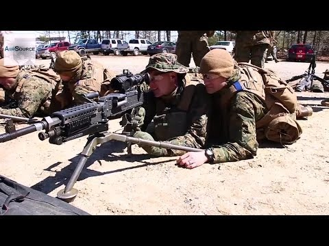U.S. Marine Corps Warrant Officers - Crew Served Weapons Exercise