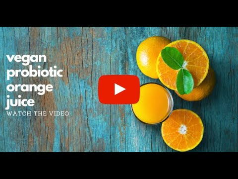 Making Probiotic Orange Juice with Naturopath Scott Collins
