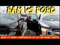 Which is the best 1/2 ton work Truck on Youtube- Ford Vs Chevy Vs Dodge Ram