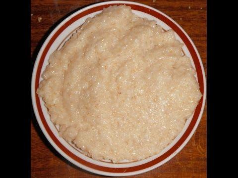 Пшеничная каша в микроволновке