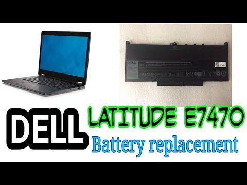 DELL Latitude E7470 Battery replacement