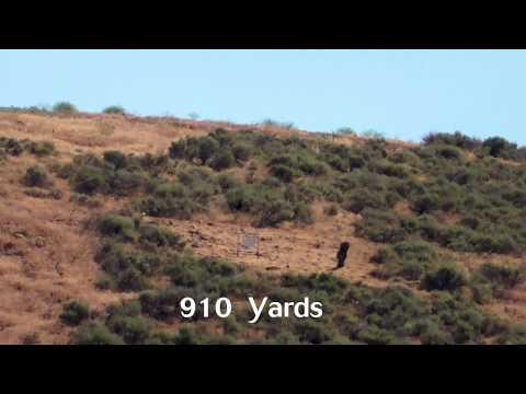 28 Nosler — 910 Yard Moose Target at Spirit Ridge Rifle Golf