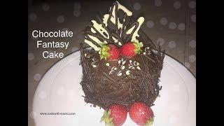 How to make chocolate cake | Chocolate Truffle cake Recipe in hindi | How to make chocolate ganache