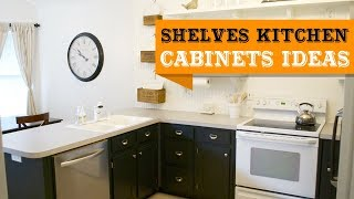 60+ Shelves Kitchen Cabinet Ideas