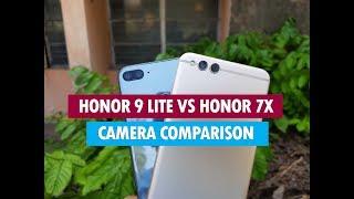 Honor 9 Lite vs Honor 7X  Camera Comparison- Which is Better Camera?