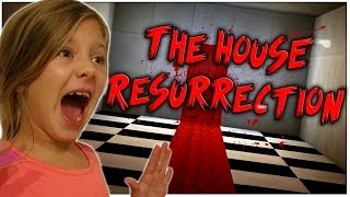 MY SISTER PLAYS A MINECRAFT HORROR MAP!!