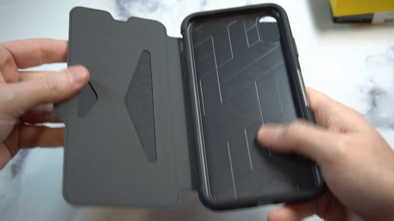 san francisco 144f7 34fc7 OtterBox STRADA SERIES Case for iPhone Xs Max Unboxing and Review