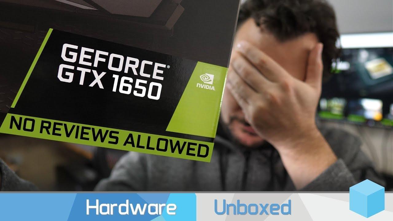 fda3951cf NVIDIA vydává GTX 1650 – je to nezajímavá karta, že NV záměrně zabránila  vydání recenzí a testů! - DDWorld.cz