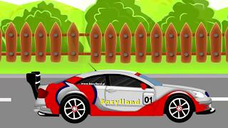 ☻ Sports Car | Tuning | Cars for Kids - Auta Bajki Dla Dzieci ☻