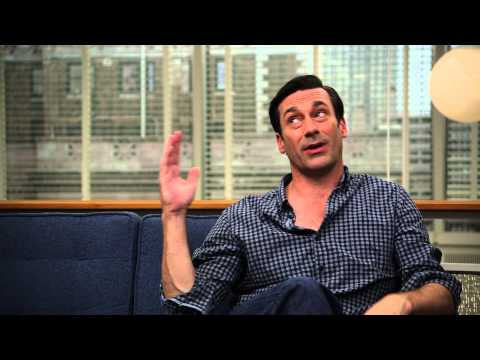 "Mad Men Season 7 Jon Hamm ""Don Draper"" Interview"