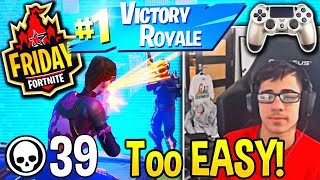 Everyone in *DISBELIEF* after FaZe SWAY Most *UNBELIEVABLE* Comeback in Fortnite Tourney!