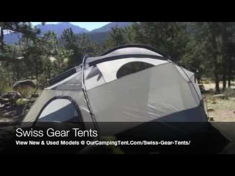 Swiss Gear Tents For Family C&ing and Replacement Pole Parts u0026 Accessories - YouTube : dome tent replacement poles - memphite.com