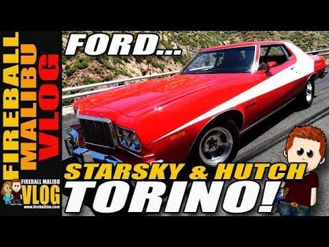 STARSKY & HUTCH #FORDTORINO UP CLOSE!