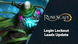 Login Lockout - Leads Update | RuneScape Stream (Mar 2021)