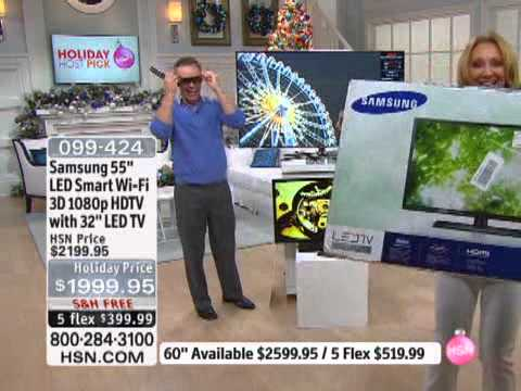Samsung 60 LED Smart WiFi 3D 1080p HDTV With 32 LED TV