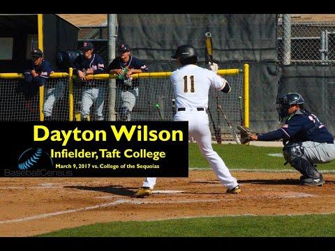 Dayton Wilson, Inf., Taft College — March 2017, Video #1