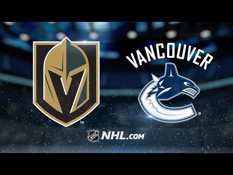 Golden Knights score three in the 3rd to beat Canucks