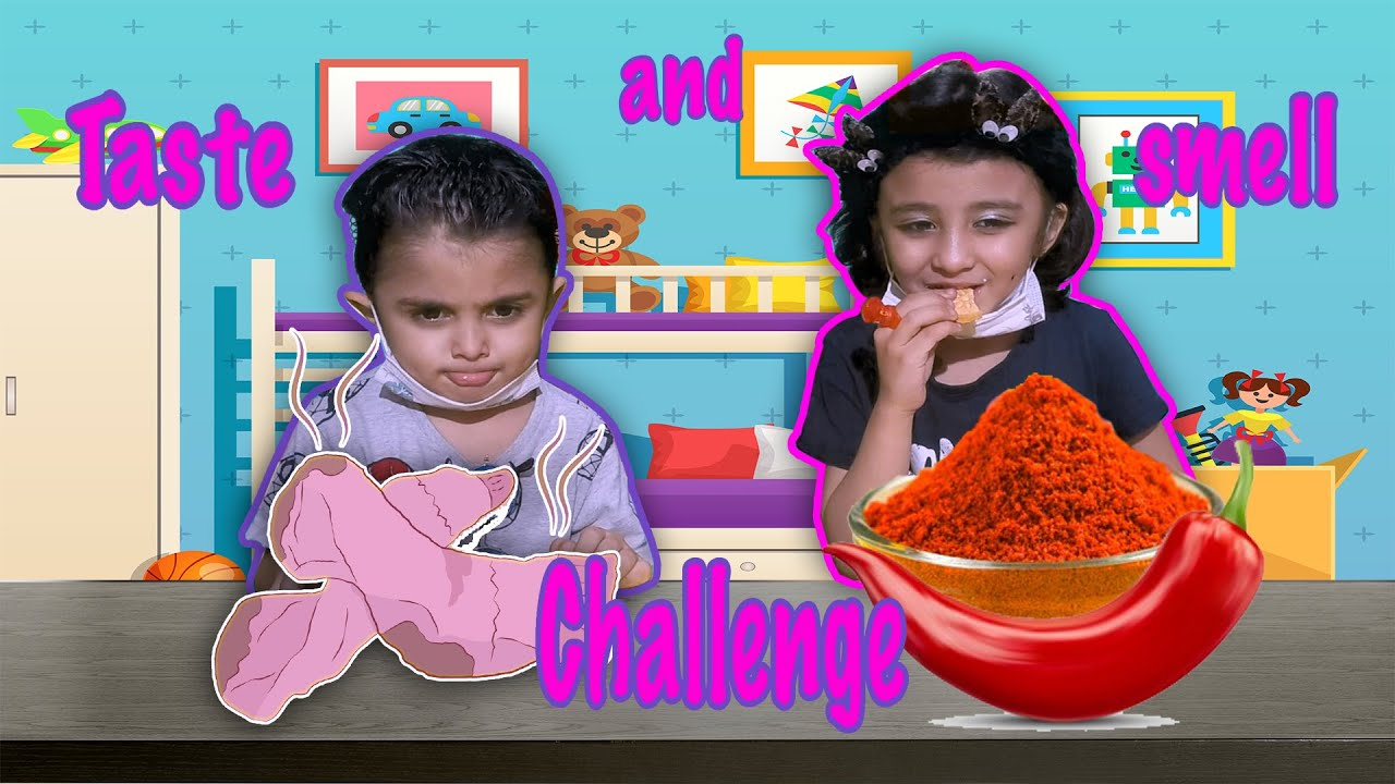 Download Smell Or Taste Challenge | Fun Challenge Video | Amna And Azaan  |  Funny Challenge
