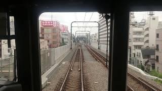前面展望 京王井の頭 急行 渋谷~永福町 超ノロノロ運転