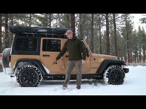 Winter Car Camping - Staying Warm Camping And Exploring!