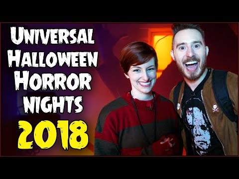 HALLOWEEN HORROR NIGHTS at Universal 2018