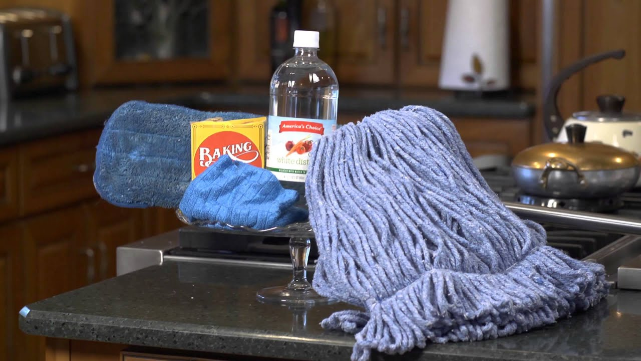 How To Attach A Mop Head House Cleaning Tips Youtube