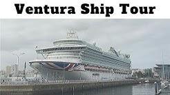 P&O Ventura ship tour