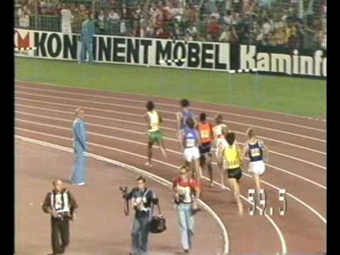 1977 World Cup 800m - men