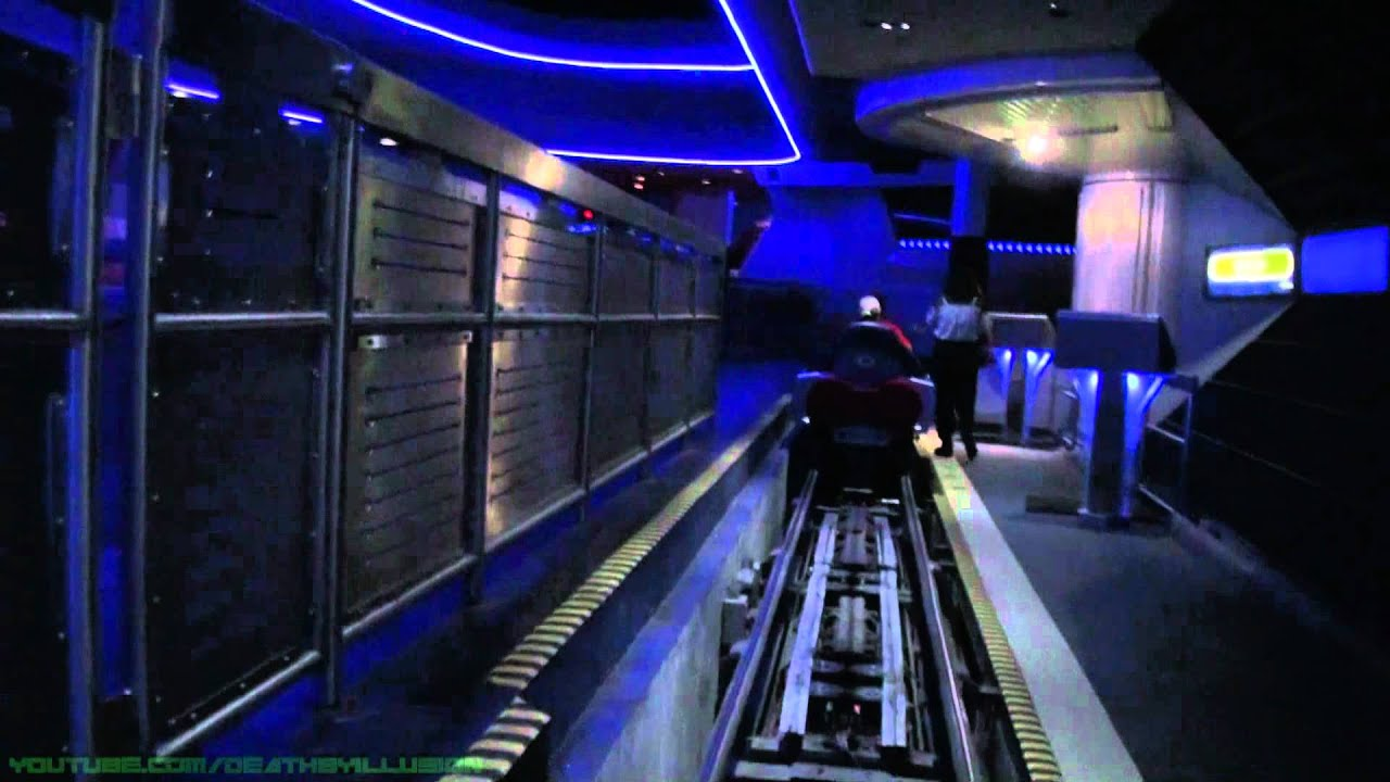 Space Mountain Nightvision On-ride (Complete HD Experience ...