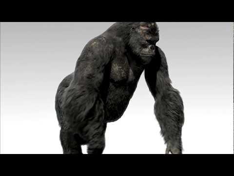 King Kong VFX | Breakdown - Kong | Weta Digital