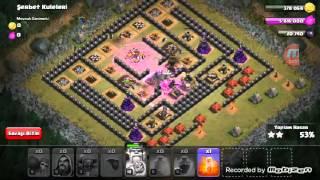 Clash of Clans 1.Bölüm Şerbet kuleleri nasıl alınır ?