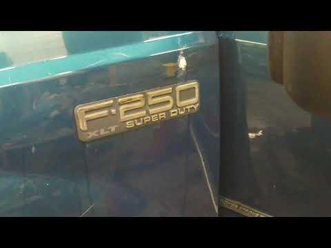 2002 Ford F250 SD No Power Windows Or Radio