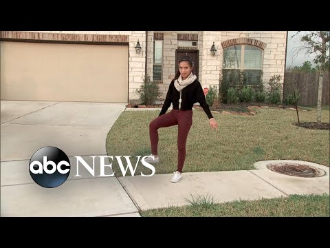 Teen goes viral with gravity-defying dance move