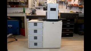 Flip Top Tool Stand mit Schubladen / Flip Top Tool Stand with drawers - diy
