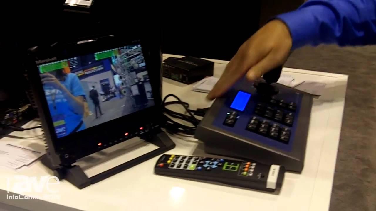 cbf74a4ba03 InfoComm 2015  Marshall Electronics Introduces CV620 PTZ Camera - YouTube