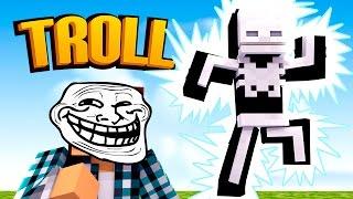Minecraft: TROLLAGEM DO CHOQUE !! - (Minecraft Troll)