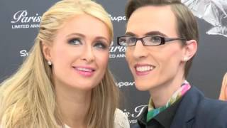 Paris Hilton UK Fragrance launch 2015
