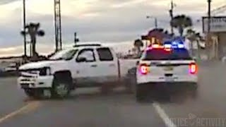Florida Police Use Pit Maneuver To End Pursuit With Multiple Crashes