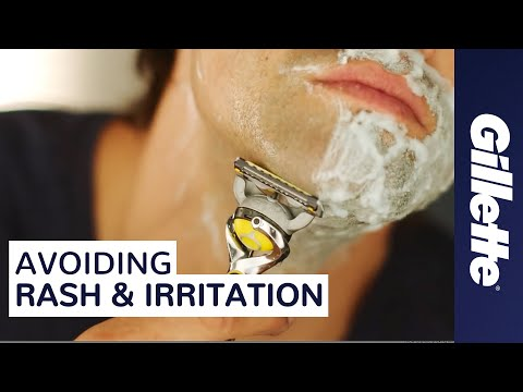 How to Help Prevent Razor Burn, Shaving Rash & Irritation While Shaving | Gillette