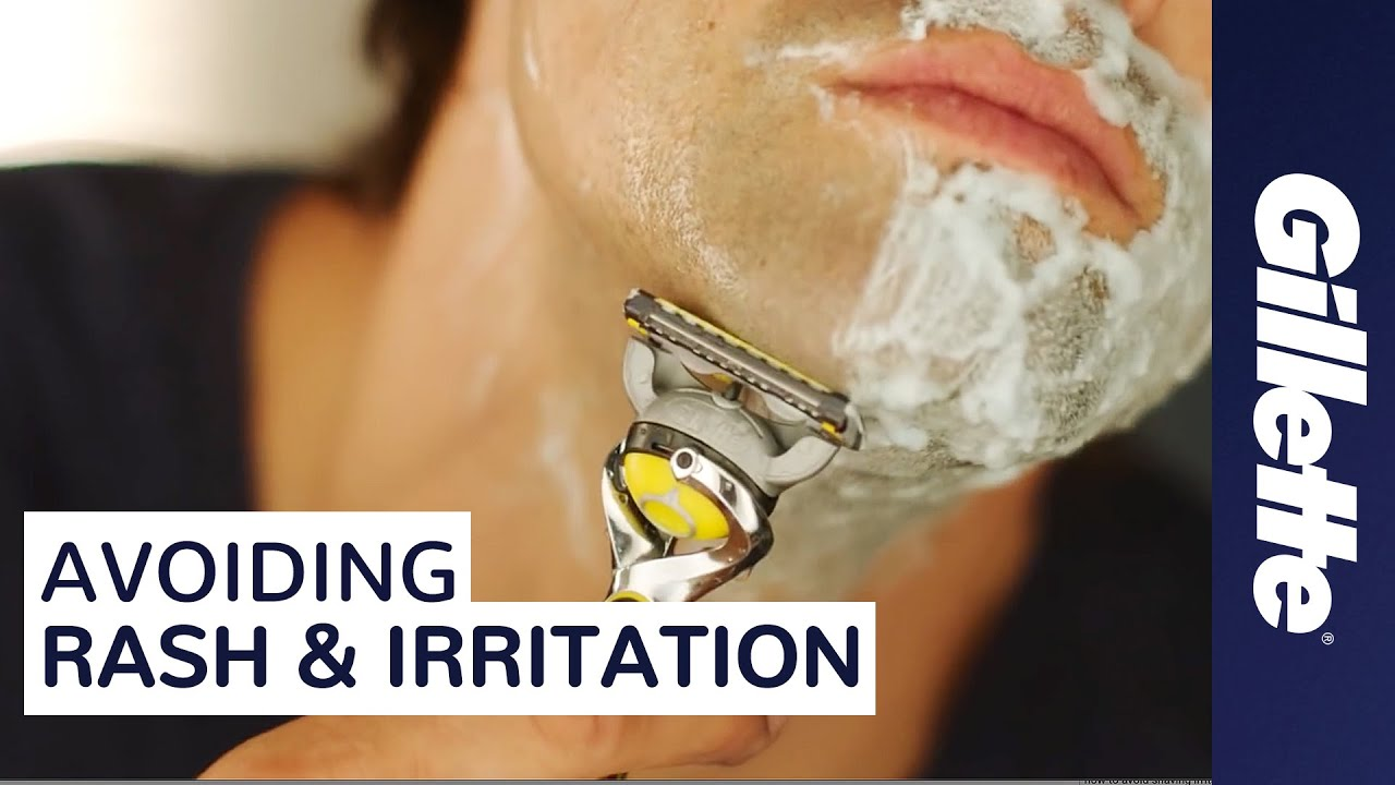 stop shaving rash and skin irritation