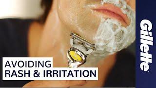 How to Help Prevent Razor Burn, Shaving Rash & Irritation While Shaving   Gillette