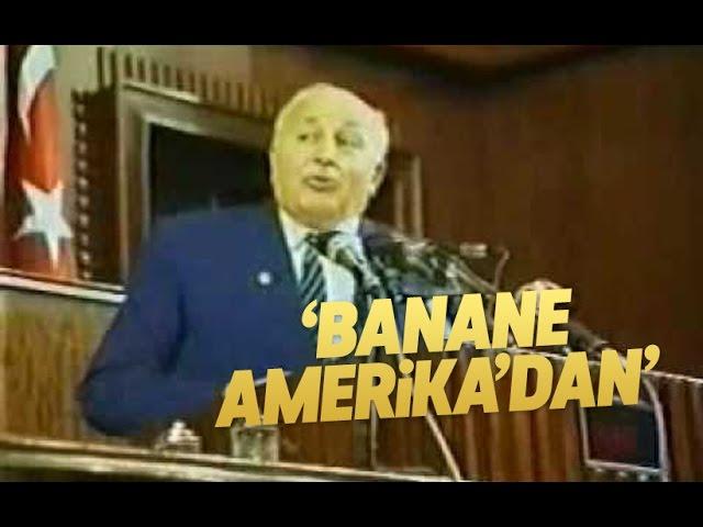 Prof. Dr. Necmettin Erbakan - Bana ne Amerika'dan - YouTube