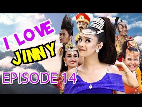 """I Love Jinny Episode 14 """"Om Telolet Om"""""""