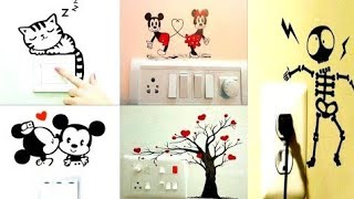 Download Socket Art Switch Socket Art Diy Wall Decoration Videos