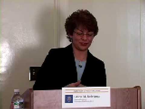 CLPR Book Colloquium - Gloria Rodriguez