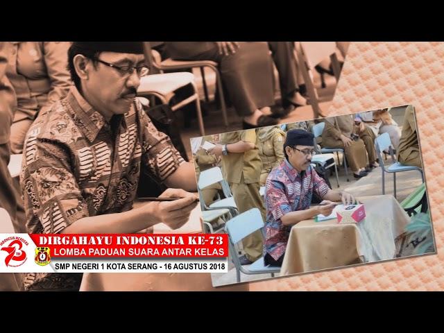 Lomba Padus HUT RI Ke-73 SMP Negeri 1 Kota Serang 2018 part.6
