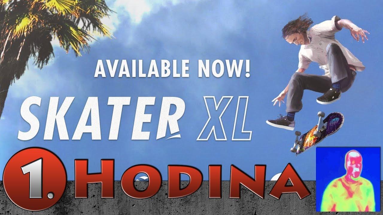 🔴 První hodina Skater XL - The Ultimate Skateboarding Game CZ/česky